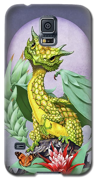 Pineapple Dragon Galaxy S5 Case