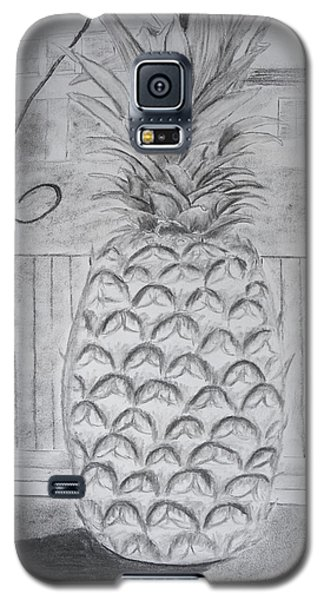 Pineapple In Window Galaxy S5 Case