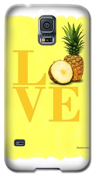 Pineapple Galaxy S5 Case by Mark Rogan