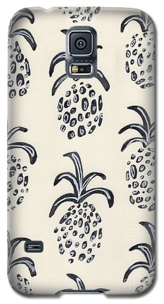 Pineapple Print Galaxy S5 Case by Anne Seay