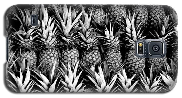 Pineapples In B/w Galaxy S5 Case