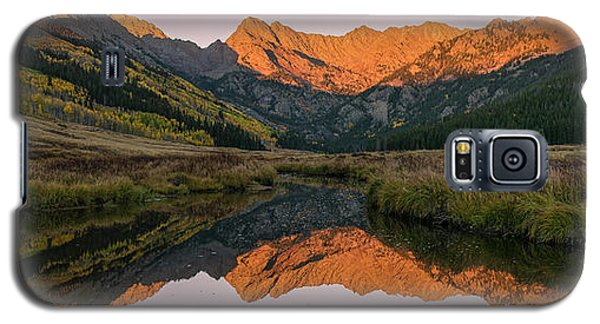 Galaxy S5 Case featuring the photograph Piney River Panorama by Aaron Spong