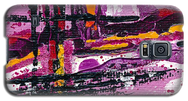 Pink Abstraction Galaxy S5 Case