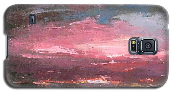 Pink Galaxy S5 Case by Anastasija Kraineva