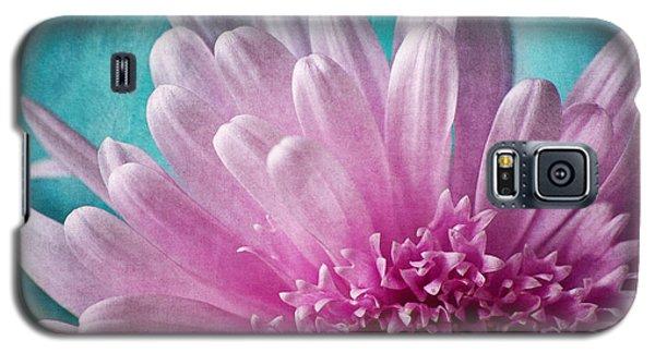 Pink And Aqua Galaxy S5 Case