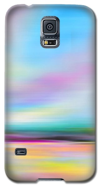 Pink And Blue Landscape Galaxy S5 Case