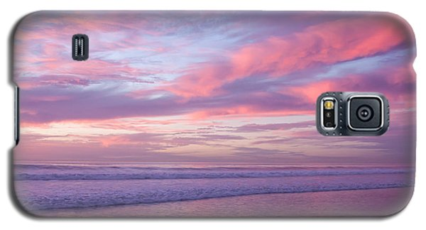 Pink And Lavender Sunset Galaxy S5 Case