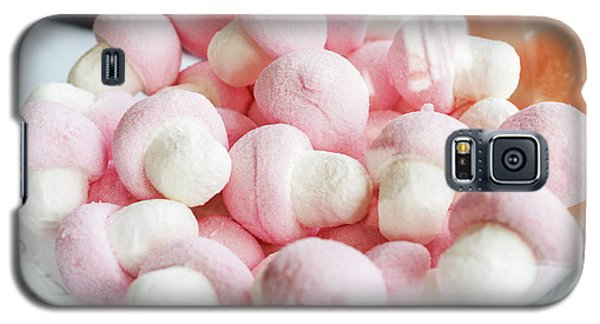 Pink And White Marshmallows In Bowl Galaxy S5 Case