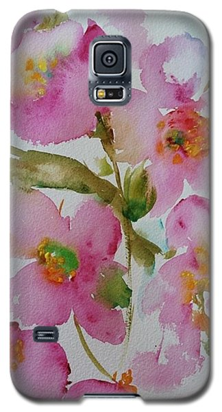 Pink Bloom Galaxy S5 Case