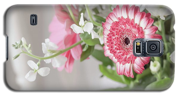Galaxy S5 Case featuring the photograph Pink Blooms Love by Kim Hojnacki