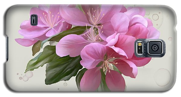 Pink Blossoms Galaxy S5 Case
