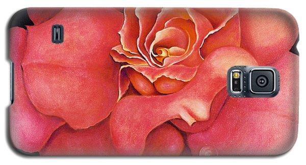 Pink Blush Galaxy S5 Case
