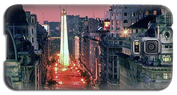 Pink Buenos Aires  Galaxy S5 Case by Bernardo Galmarini