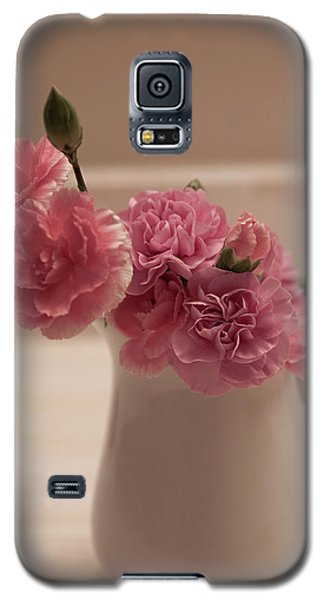 Pink Carnations Galaxy S5 Case by Sherry Hallemeier