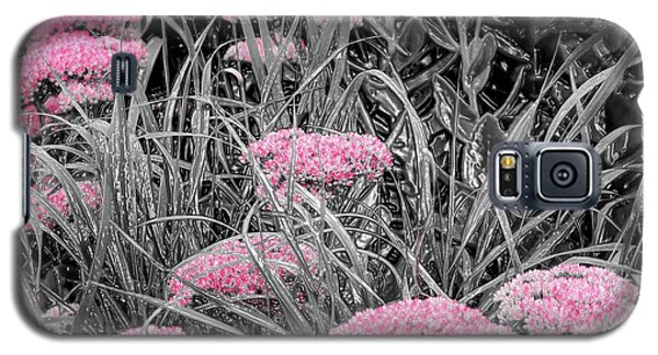 Pink Carved Cowslip Galaxy S5 Case