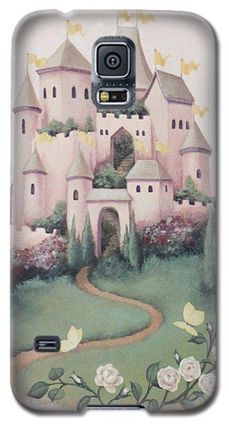 Pink Castle Galaxy S5 Case
