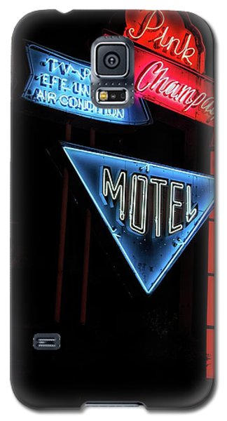 Pink Champagne Motel Galaxy S5 Case