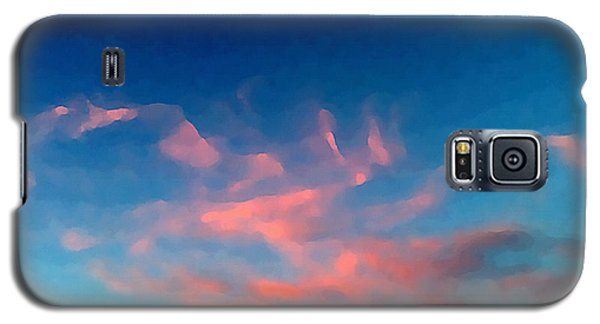 Pink Clouds Abstract Galaxy S5 Case