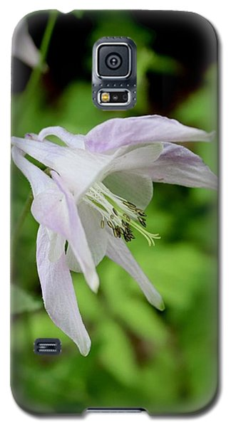 Pink Columbine Galaxy S5 Case