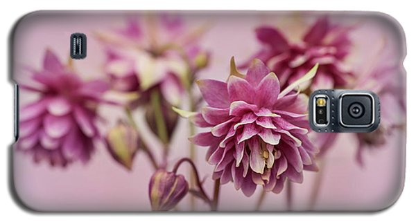 Pink Columbines Galaxy S5 Case
