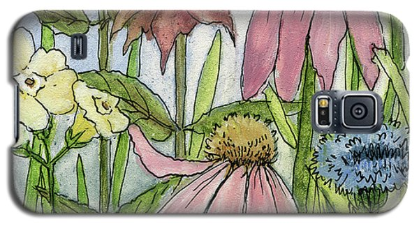 Pink Coneflower Galaxy S5 Case