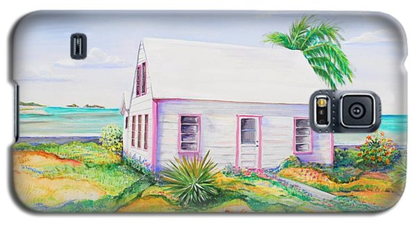 Pink Cottage Galaxy S5 Case by Patricia Piffath