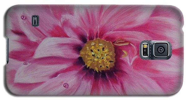 Pink Dahlia I Galaxy S5 Case