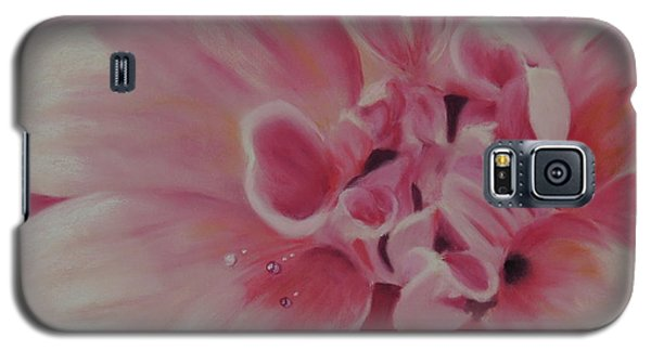 Pink Dahlia II Galaxy S5 Case