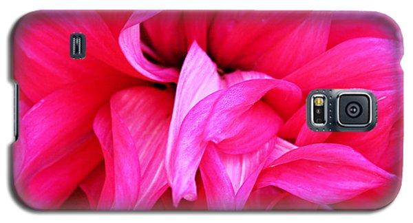 Pink Dahlia Galaxy S5 Case by Kristin Elmquist