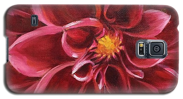 Pink Dahlia Galaxy S5 Case by Pam Talley