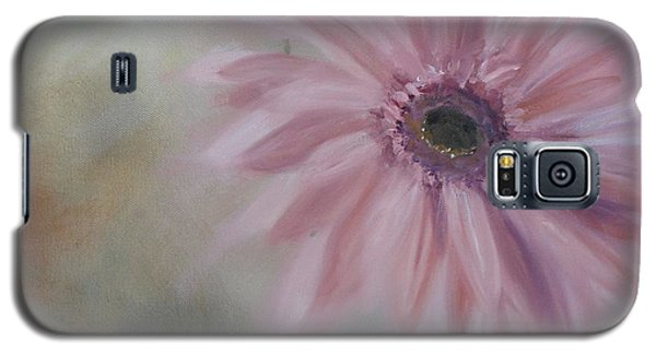 Galaxy S5 Case featuring the painting Pink Daisies by Donna Tuten