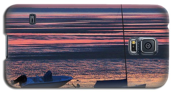 Galaxy S5 Case featuring the photograph Pink Dawn by Dianne Cowen