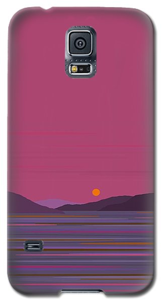 Pink Dawn Galaxy S5 Case by Val Arie
