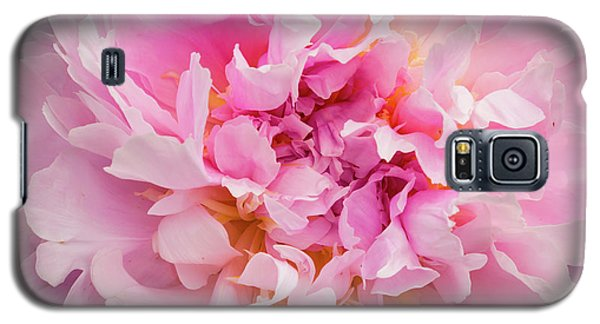Pink Double Peony Galaxy S5 Case