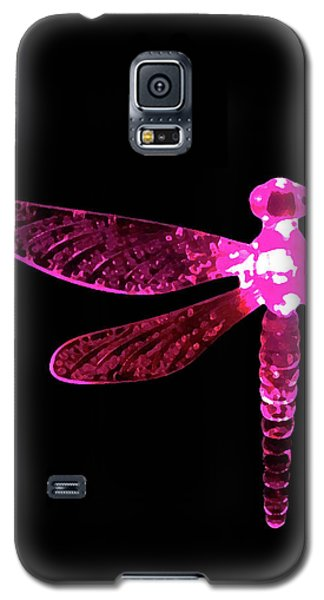 Pink Dragonfly Galaxy S5 Case
