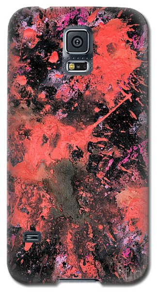 Pink Explosion Galaxy S5 Case