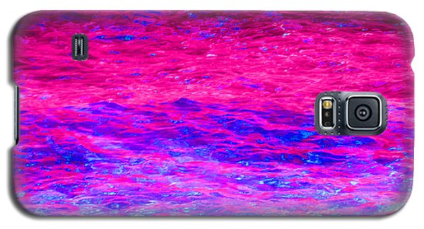 Pink Fantasy Waters Abstract Galaxy S5 Case
