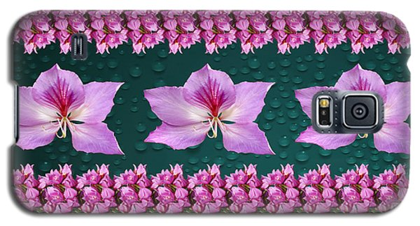 Pink Flower Arrangement Galaxy S5 Case