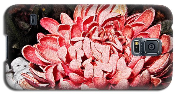 Galaxy S5 Case featuring the photograph Pink Flower by Joan  Minchak