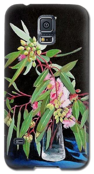 Pink Flowering Gum Galaxy S5 Case