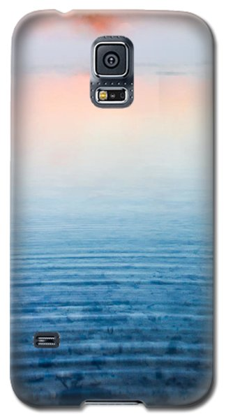 Pink Fog At Sunrise Galaxy S5 Case by Shelby  Young