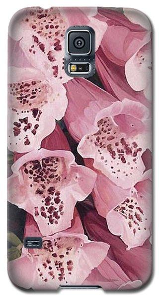 Pink Foxglove Galaxy S5 Case