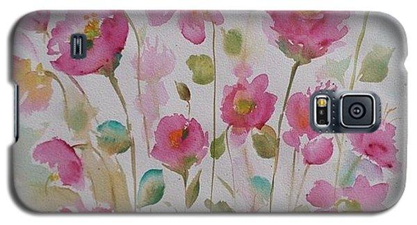 Pink Garden 2  Galaxy S5 Case