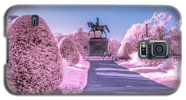 Pink Garden Galaxy S5 Case