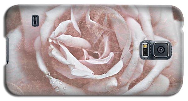 Pink Garden Rose Galaxy S5 Case