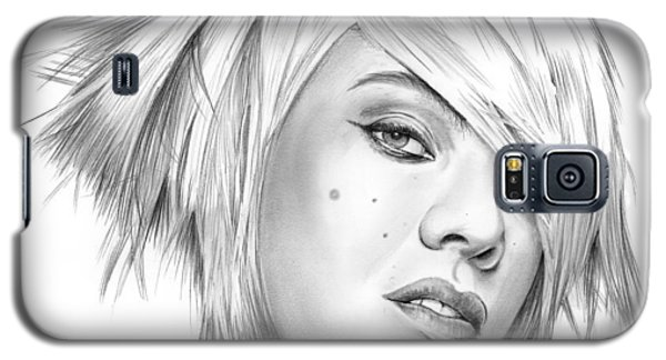 Pink Galaxy S5 Case by Greg Joens