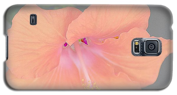Pink Heavenly Hibiscus Galaxy S5 Case