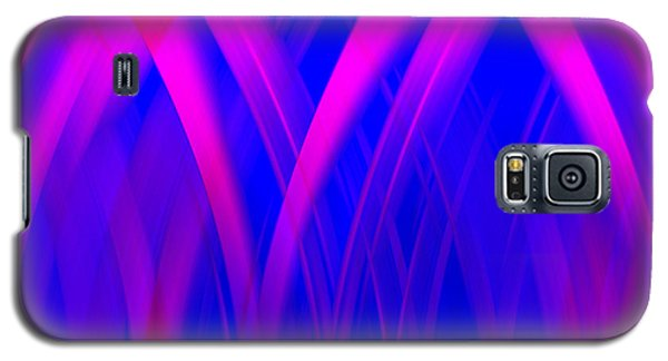 Pink Lacing Galaxy S5 Case by Carolyn Marshall
