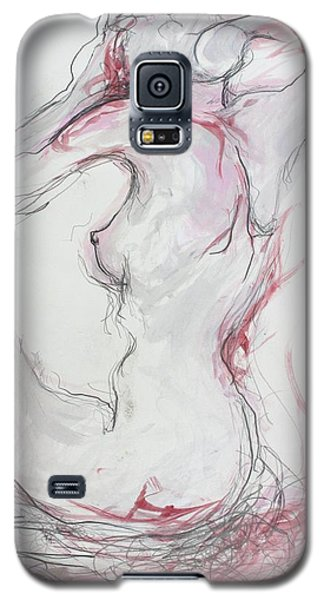 Pink Lady Galaxy S5 Case by Marat Essex