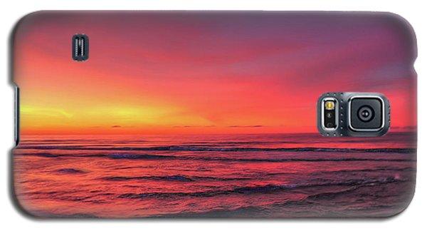 Pink Lbi Sunrise Galaxy S5 Case